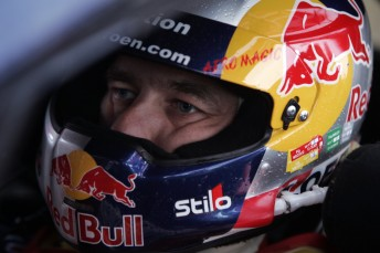 Loeb has built a healthy lead after Day 2 at Rally GB