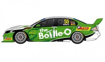 The livery of the 2010 The Bottle-O Racing FPR Falcon FG