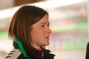 Leanne Tander will suit up with Guy Andrews in the UberStar MINI Challenge car