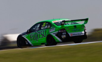 Jason Bright started from pole position in today's opening race at the Island 300