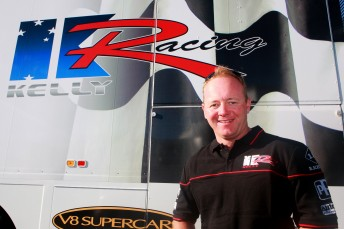 Jason Bargwanna will drive for Kelly Racing in 2010