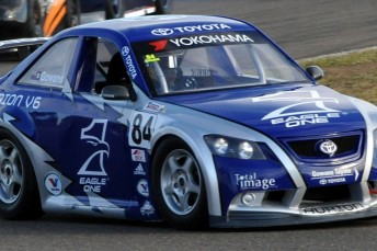 Adam Gowans wrapped up the 2009 Aussie Racing Cars title at Phillip Island