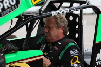 Steve Kinser will join Donny Schatz at Tony Stewart Racing for the 2010 WoO Series