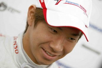 Japanese sensation Kamui Kobayashi will race for Sauber in Formula 1 next year