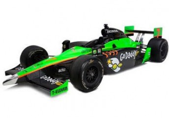 Danica Patrick's new #7 Andretti Autosports IndyCar unveiled overnight in New York