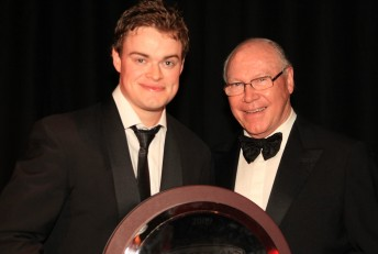 Mike Kable Rookie of the Year James Moffat and his famous father Allan