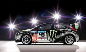 Ken Block's Monster World Rally Team Ford Fiesta