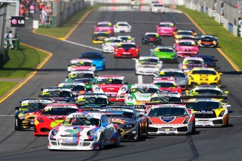 The Australian GT class at Albert Park last year