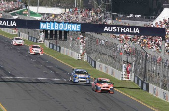 Last year's V8 Supercars races at the Australian Grand Prix