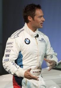 Three-time World Touring Car champion Andy Priaulx