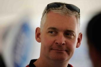 Dick Johnson Racing's Sporting Director Adrian Burgess