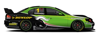 The Falcon that Jose Fernandez will race this weekend at Eastern Creek