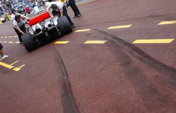 Lewis Hamilton at last week's Monaco Grand Prix