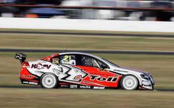 Garth Tander will start Race 9 of the V8 Supercars Championship Series from pole position