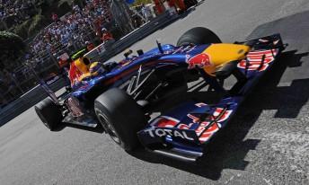 Mark Webber has taken pole for the Monaco Grand Prix