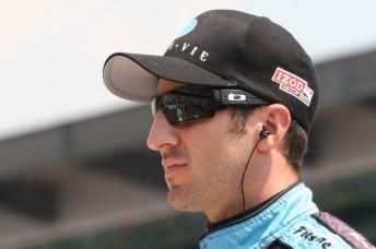 Dreyer & Reinbold Racing driver Tomas Scheckter