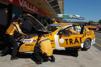 Jason Bright's #14 Trading Post Racing Commodore VE