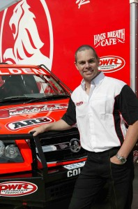 Craig Lowndes and the V8 powered PWR Performance Products/Holden Rally Team Holden Colorado