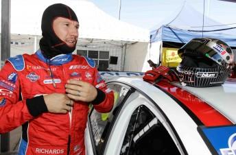 Team BOC driver Jason Richards