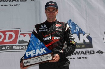 Will Power took his fifth pole for the year at Watkins Glen this morning (Australian time)