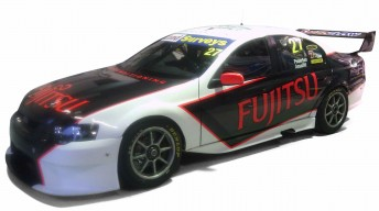 The Matthew White Motorsport Falcon entry for Ant Pedersen and Damien Assaillit