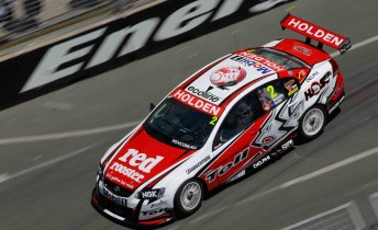 Garth Tander in the Toll Holden Racing Team Commodore VE