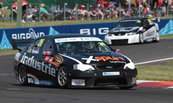 Tweedie will drive the Falcon that Ben Barker drove at Bathurst this year
