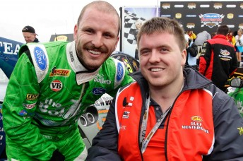 Paul Dumbrell and his younger brother Lucas