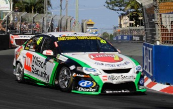Tim Slade in the #47 Wilson Security Racing Ford Falcon