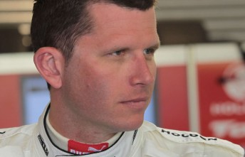 Toll Holden Racing Team driver and Formula Ford team owner Garth Tander
