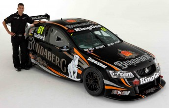 Fabian Coulthard's Bundaberg Racing Commodore VE