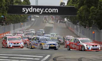 There will be a couple of number changes for the 2011 V8 season