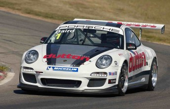 Craig Baird's Carrera Cup entry that he will compete in this year