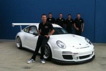 Patrizi poses with his new car