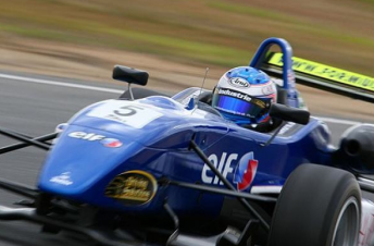 Ben Barker and BRM will step up to Carrera Cup this year