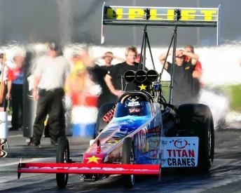 Terry Sainty will drive for the Rapisarda Racing team in NHRA