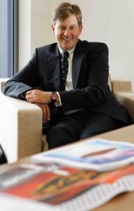 V8 Supercars CEO Martin Whitaker