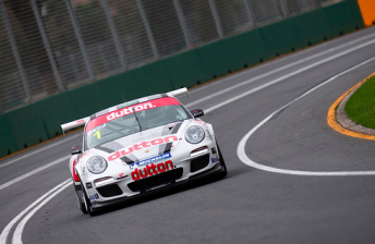 Craig Baird set the pace in the Carrera Cup