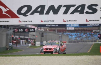 Jamie Whincup took out the Albert Park 400
