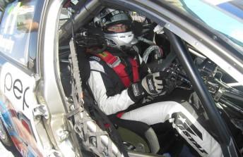 Taz Douglas got two stints behind the wheel of the Pepsi Max Crew Commodore