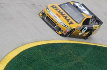 Ambrose was out of luck at Martinsville