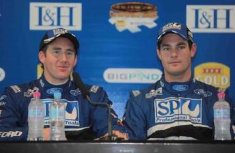 John McIntyre and Shane van Gisbergen