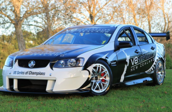 The first V8 SuperTourer will be driven by Greg Murphy at Hampton Downs tomorrow