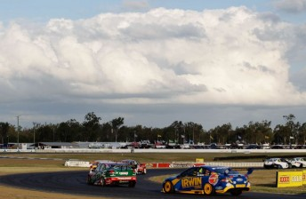 The V8 Supercars will return to QR in a daytime format