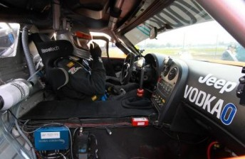 Greg Crick in his Jeep-backed Viper