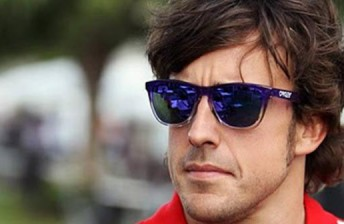 Fernando Alonso led the pack in Practice 2