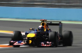 Vettel made it six wins from eight for 2011