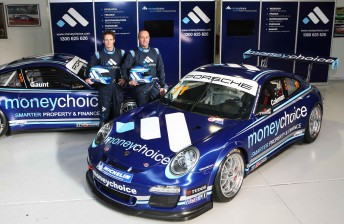 Gaunt and Coleman will race in identical liveries