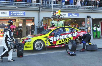 Russell Ingall's Supercheap Auto Racing Commodore