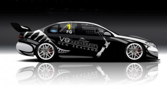An artists impression of the Ford Falcon FG V8SuperTourer